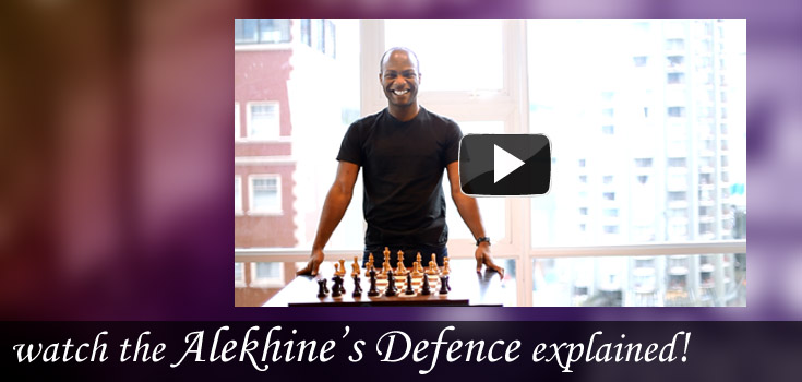 featured opening: Alekhines Defence