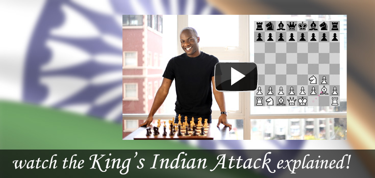 featured opening: King's Indian Attack