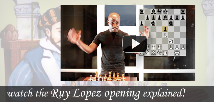 featured opening: Ruy Lopez